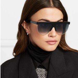 Givenchy black flat top sunglasses 😎